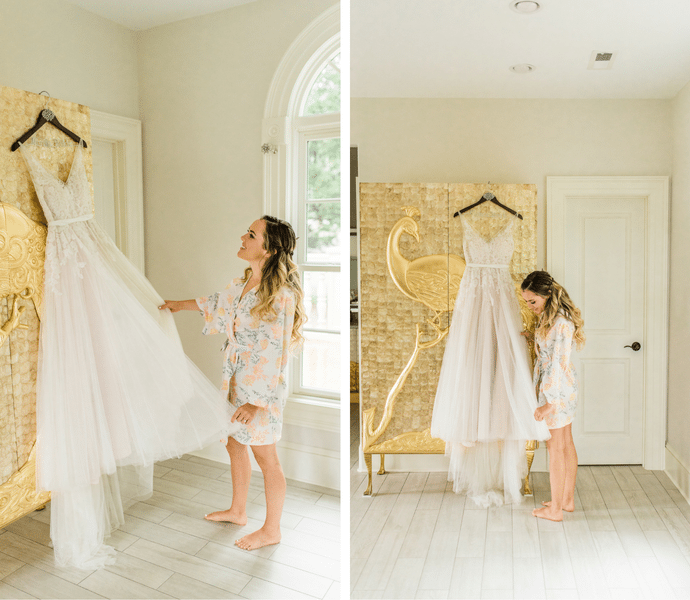 8 Our Oh-So-Sweet Bridal Suite!